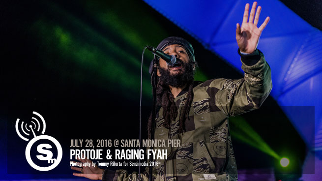 Protoje and Raging Fyah at The Santa Monica Pier