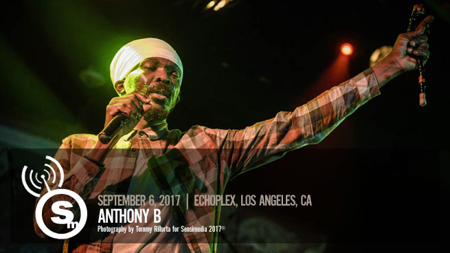 Anthony B at Dub Club