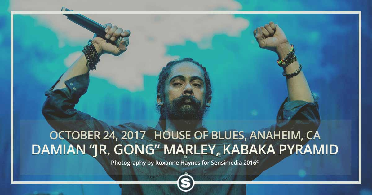 Damian Marley at House of Blues