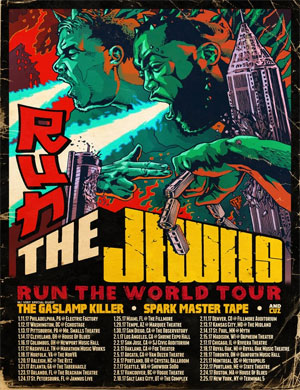 Run The Jewels Run The World Tour