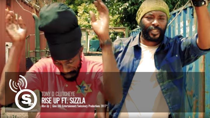 Tony D Clutcheye - Rise Up ft. Sizzla