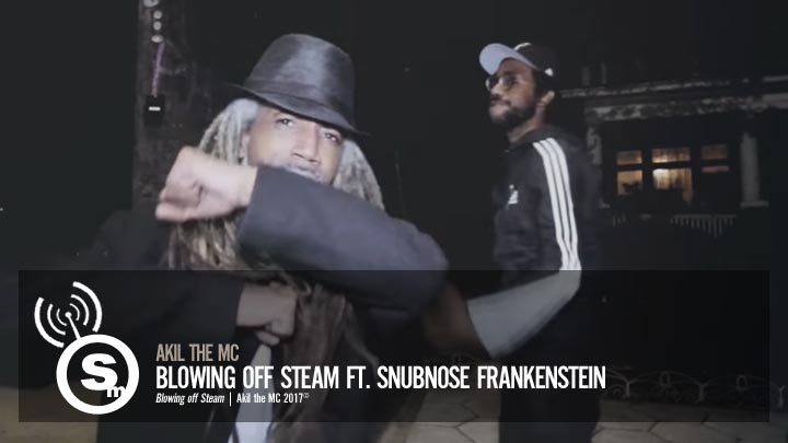 Akil The Mc - Blowing off Steam ft. Snubnose Frankenstein