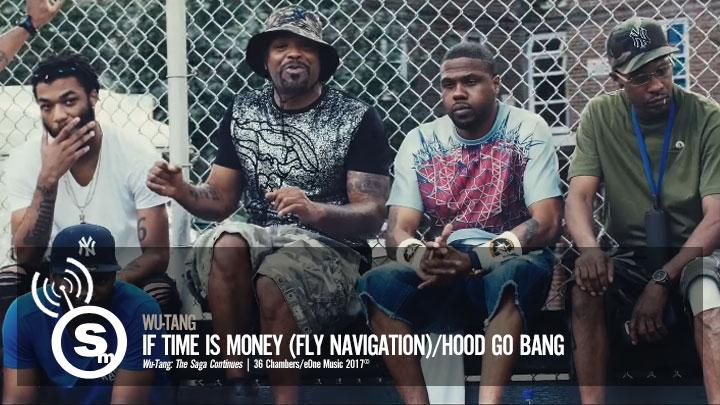 Wu-Tang - If Time Is Money (Fly Navigation)/Hood Go Bang
