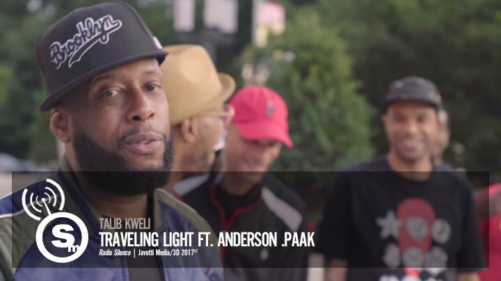 Talib Kweli - Traveling Light ft. Anderson .Paak