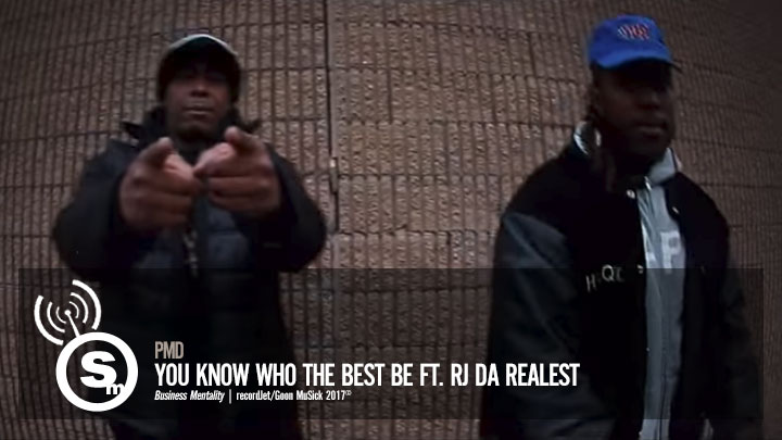 PMD - You Know Who The Best Be ft. RJ Da Realest
