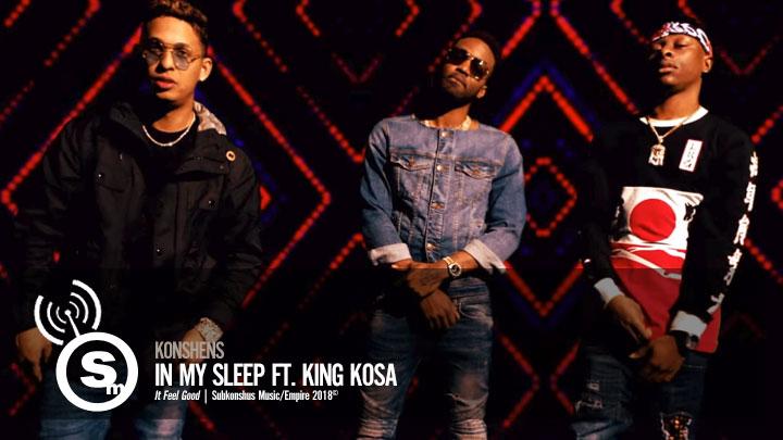 Konshens - In My Sleep ft. King Kosa