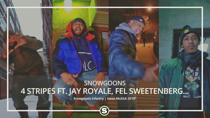 Snowgoons - 4 Stripes ft. Jay Royale, Fel Sweetenberg, Illa Ghee & Ali Vegas