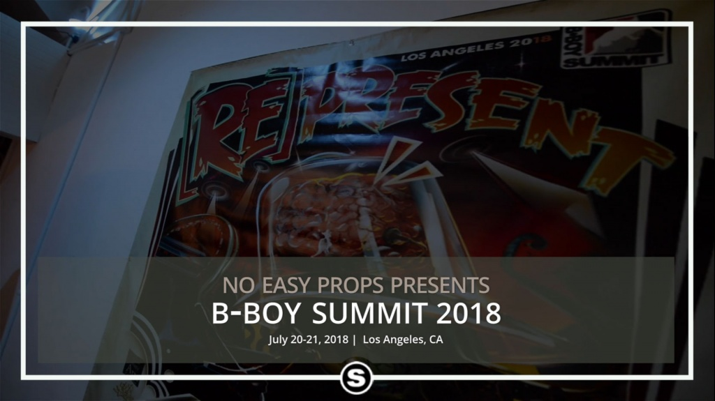 B-Boy B-Girl Summit 2018
