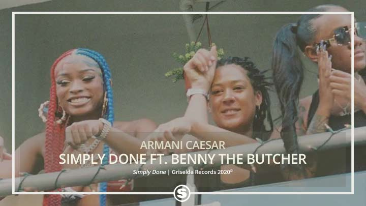 Armani Caesar - Simply Done ft. Benny The Butcher
