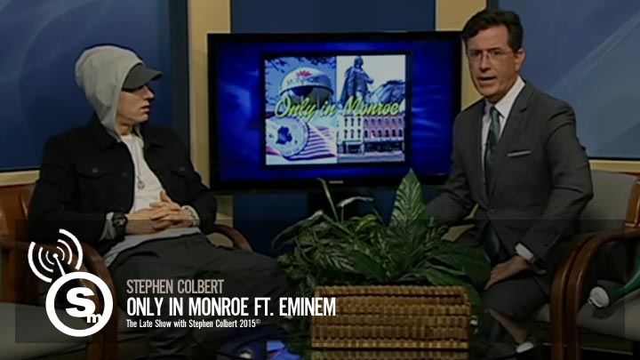 Eminem - Stephen Colbert Only in Monroe