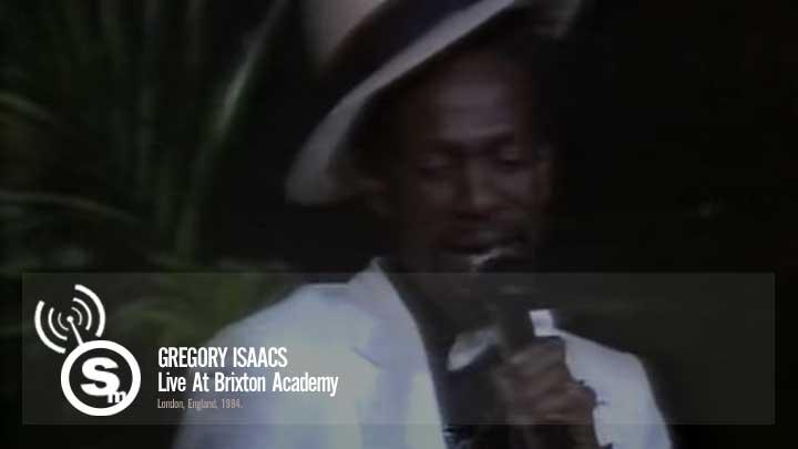 Gregory Isaacs - Brixton Academy