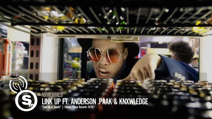 NxWorries - Link Up ft. Anderson .Paak & Knxwledge