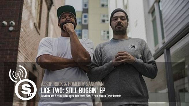 Aesop Rock & Homeboy Sandman - Lice Two: Still Buggin'