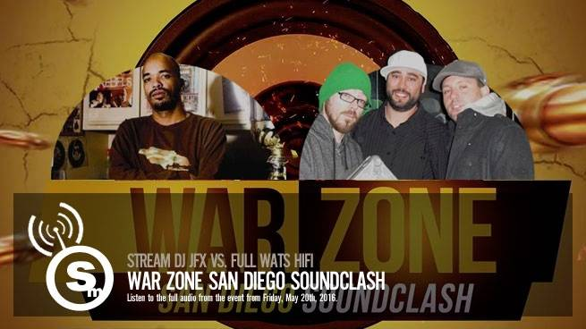 Stream War Zone Sound Clash 2016