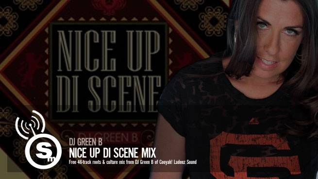 Dj Green B - Nice Up Di Scene