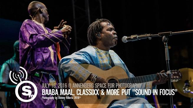 "Baaba Maal, Classixx & More Put ""Sound in Focus"""