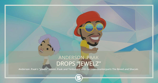 Timbaland, The Breed & Shucati team up for Anderson .Paaks