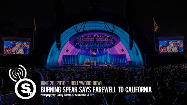 Burning Spear Says Farewell at Hollywood Bowl