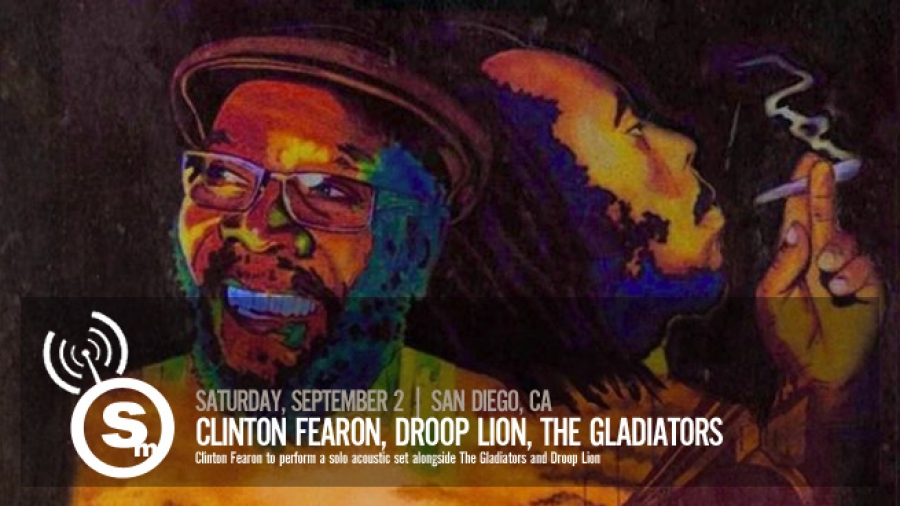Clinton Fearon, Droop Lion & The Gladiators in San Diego