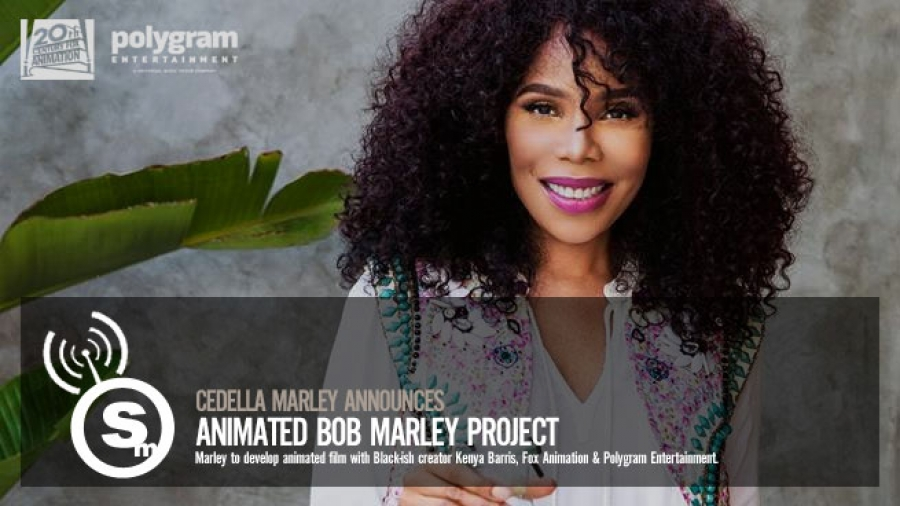Cedella Marley & Kenya Barris Will Produce Animated Bob Marley Film