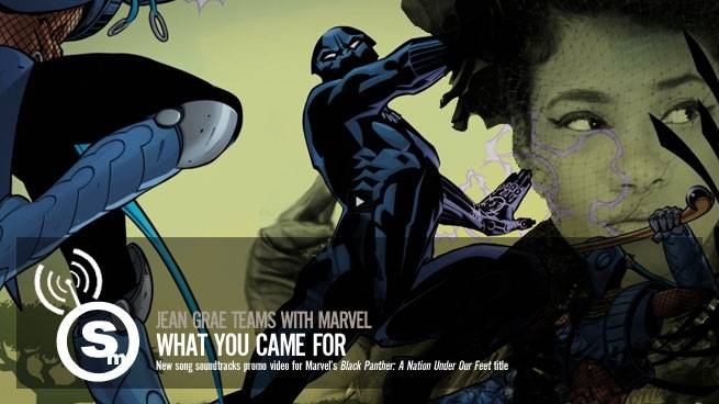 Jean Grae & Quelle Chris Join Forces with Marvel's Black Panther